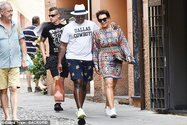 Chance: Ils étaient inséparables alors qu'ils marchaient dans les rues de Portofino