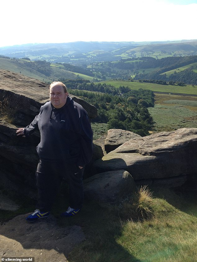 Ben said he struggled to walk for more than five minutes and said at his heaviest he was over 27 stone