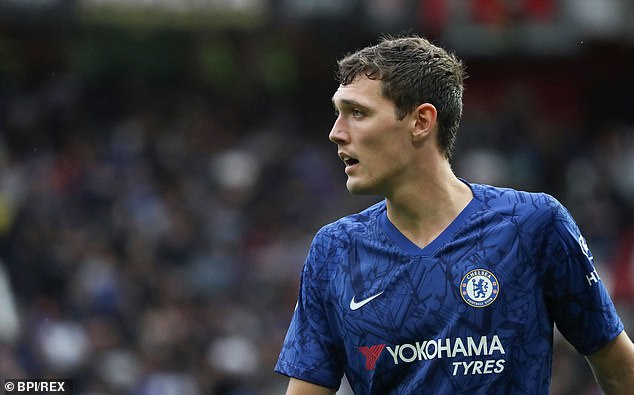 Christensen made his Chelsea debut in a 3-1 win over Sunderland in May 2015