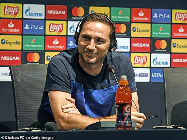 Frank Lampard is determined to record his first victory as Chelsea boss in the Super Cup