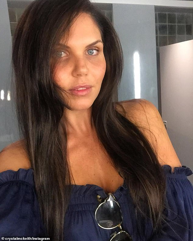 'We're not here to freeze your face, we just want to help your cells stop ageing': Body Shapest owner CrystalMckeith (pictured) says her treatments are non-invasive and far more natural than getting Botox and fillers