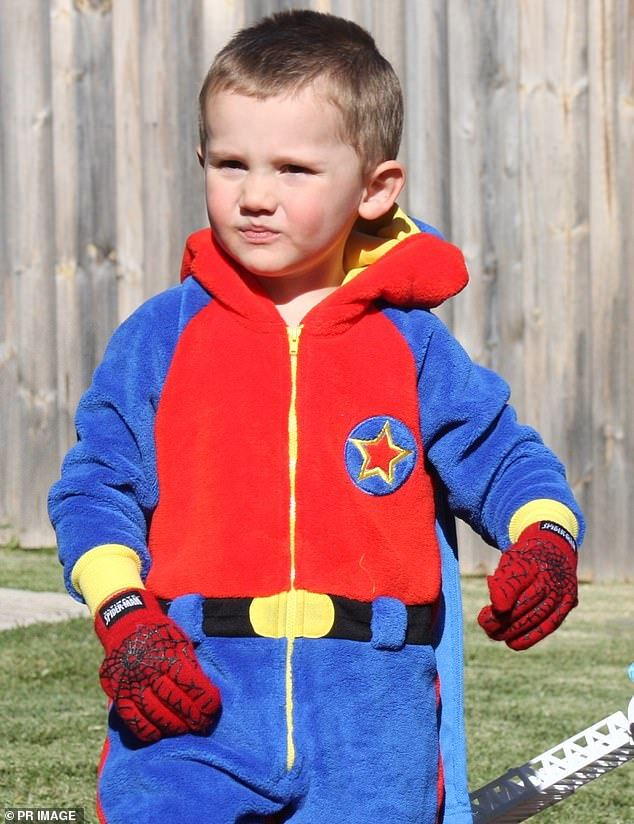 A pair of former friends have told conflicting stories to the William Tyrrell (pictured) inquest about whether a driver was seen pushing something down into a car footwell the day the three-year-old went missing