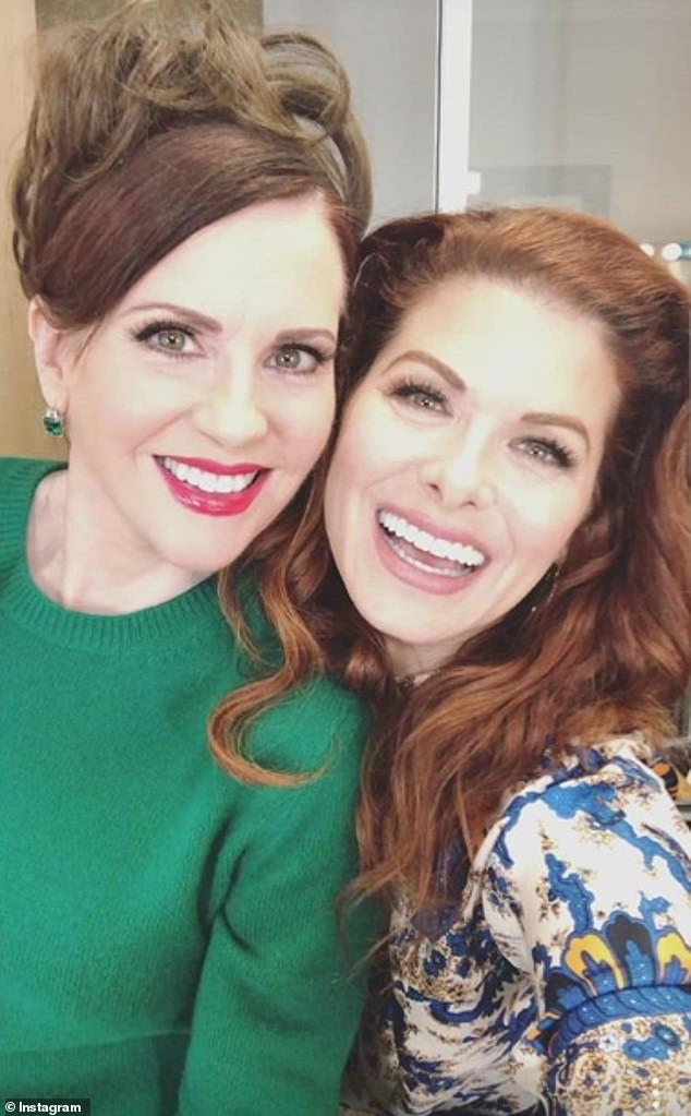 Will & Grace stars Debra Messing and Megan Mullally have unfollowed one another on Instagram and posted cryptic messages about 'people who aren't good for you'