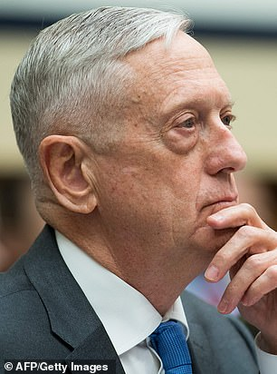 Former Defense Secretary General James Mattis