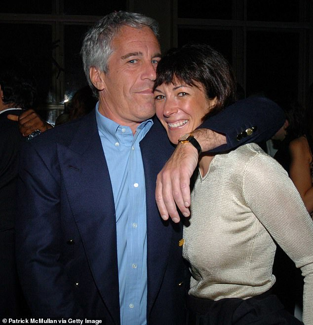 Ghislaine Maxwell's boyfriend (photographed with Jeffrey Epstein in 2005) was accused of attacking his ex-wife Rebecca during their marriage, according to divorce papers
