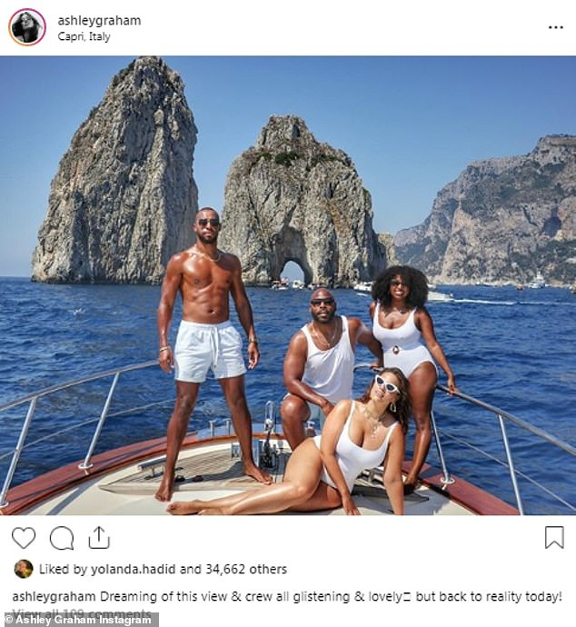 Vacation Mode: Ashley and Justin have recently spent a luxurious vacation on a yacht with Rachel Aschalew and Anthony Evans in Italy