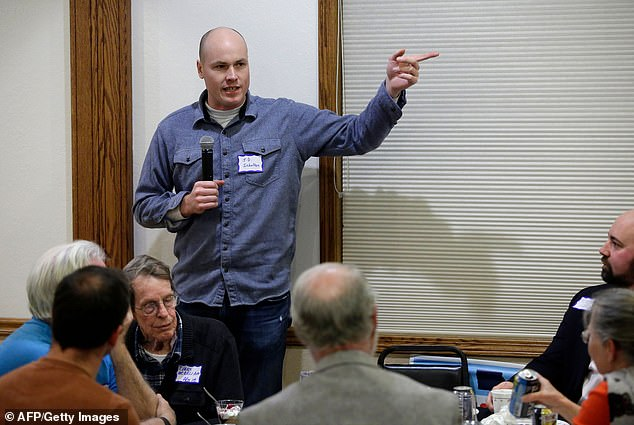The Democrat J.D. Scholten, who fights against King, condemned his remarks