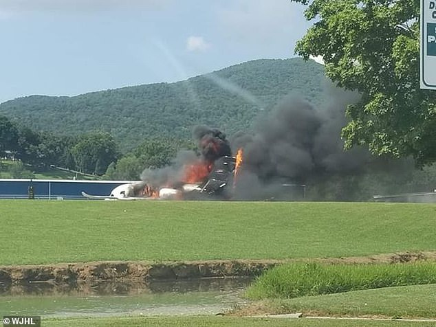 Earnhardt Jr said the family would not be speculating about the cause of the crash, which is now under investigation. The 10-seat, twin-engine Cessna Citation Latitude registered to Earnhardt Jr's race team, JR Motorsport, was mostly destroyed in the fire