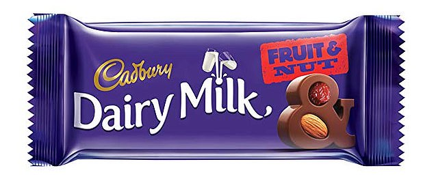 Several Cadbury bars, including Dairy Milk Fruit & Nut, whose sugar content rose from 32 percent to 54.5 percent