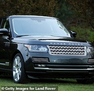 Parscale and his wife have at least $300,000 worth of cars - including a 2017 Ferrari, a Range Rover, a BMW X6 and $146,000 Range Rover (pictured) while public records suggest Parscale has owned as many as eight boats