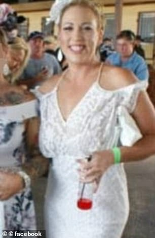 Amy Connors  (pictured) admitted to the affair with the killer of  Senior Constable Glenn McEnallay