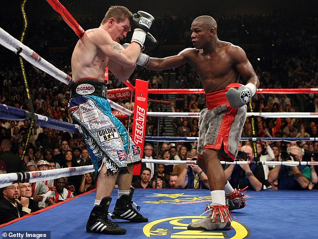 He has been open about struggles with mental health following defeat by Floyd Mayweather