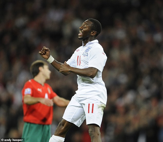 Wright Phillips was capped by England on 36 occasions and scored six times for his country
