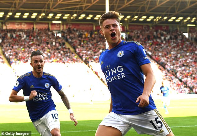 Harvey Barnes scored a screamer to put Leicester in front at Bramall Lane on Saturday