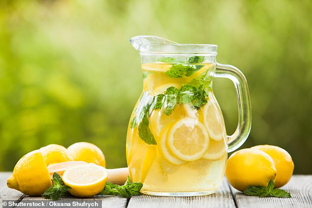 BONNIE ESTRIDGE: I enjoy a drink, and I will do again I'm sure, but for the time being I'm teetotal. Now, obviously one must have liquid of some description, to lubricate the throat. So I've found some terrific alternative tipples (pictured, stock image)