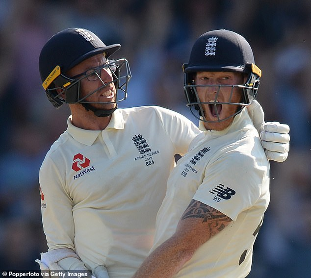 Stokes went on to complete one of the all-time great Ashes innings by hitting unbeaten 135