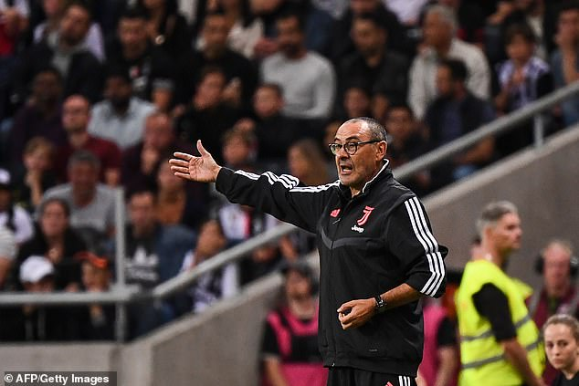 Juventus boss Maurizio Sarri could return to the touchline but has refused to stop smoking