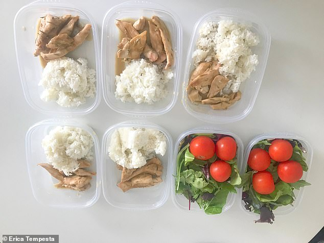 Say what? I meal prepped everything on Sunday and was shocked to learn that I could have a full cup of rice with each meal
