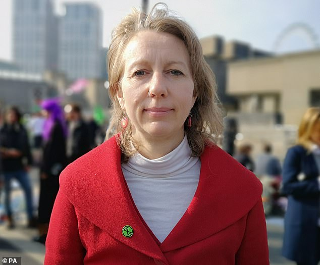 Gail Bradbrook, one of the co-founders of Extinction Rebellion, has revealed she began the movement after taking 'psychedelic medicines' - just days after climate protesters shut down central Manchester