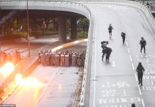 14 Persons Accused Of Violating Mask Ban In Hong Kong