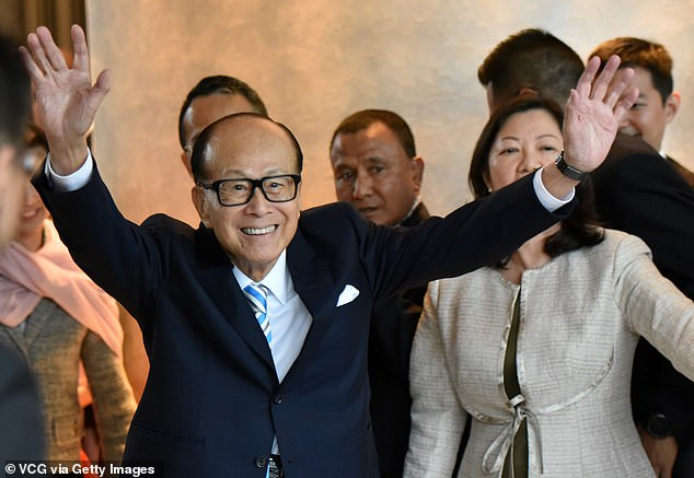 Many Hong Kong tycoons, such asLi Ka-shing (pictured in may), choose to lead a thrifty life