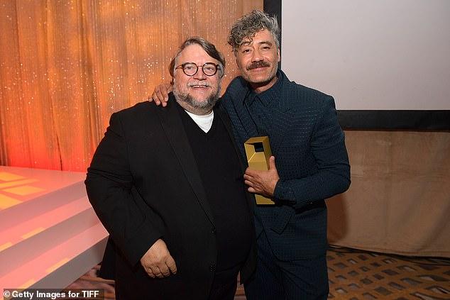 Taika and Guillermo: Taika Waititi and Guillermo del Toro are all smiles
