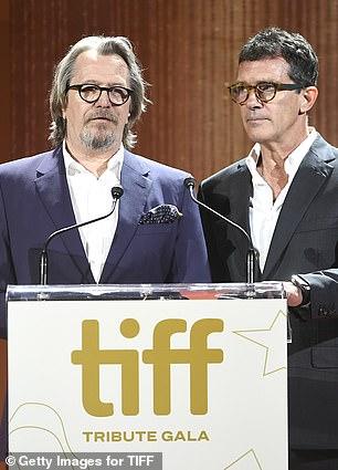 Gary and Antonio: Gary Oldman and Antonio Banderas take the stage