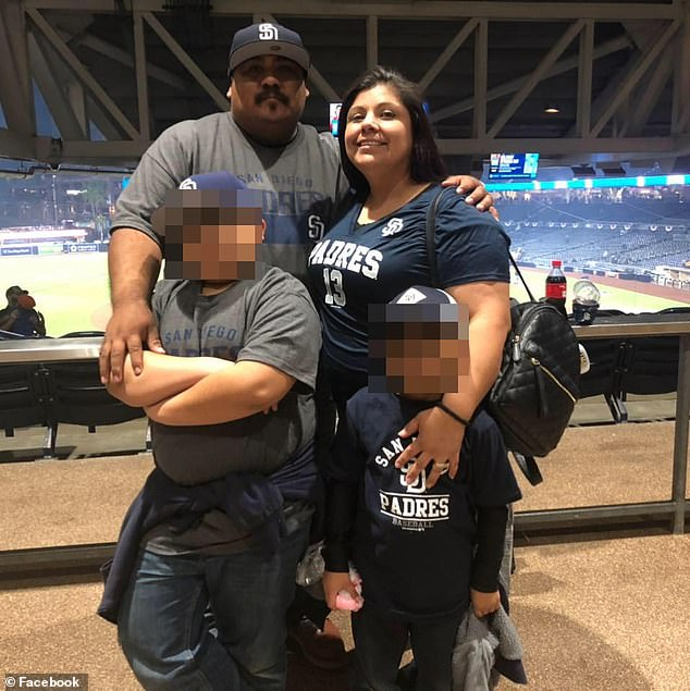 Jose 'Joe' Anthony Diaz with wife Mercedes Gonzales (aka Mercy Diaz) were also arrested Tuesday