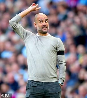 He also hailed the impact of Pep Guardiola