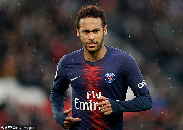 But the Brazilian remains a Paris Saint-Germain player for another few months at least