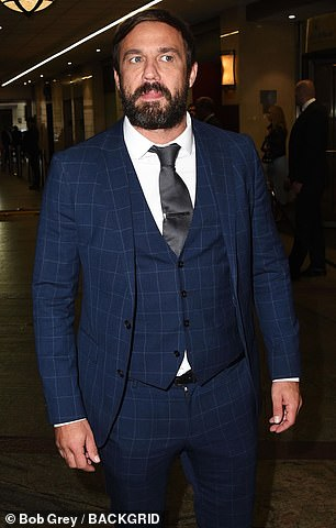Fight: An Emmerdale spokesperson told MailOnline: 'We are extremely concerned to hear about an incident at the TV Choice Awards involving one of ­Emmerdale's cast. (Jamie Lomas pictured)