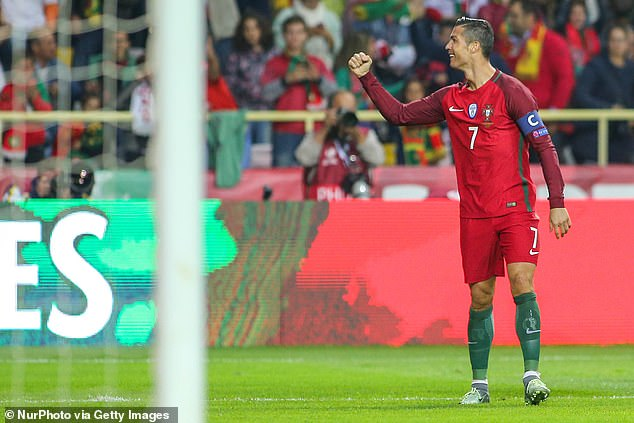 It is the second time Ronaldo has scored four for Portugal — the other coming against Andorra