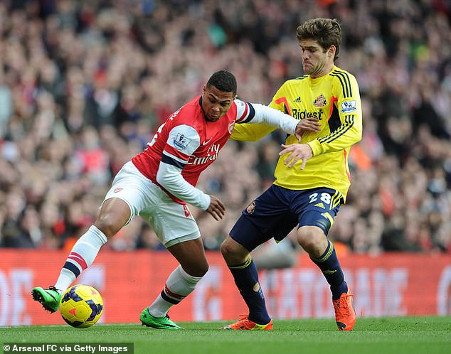 Arsenal ended up selling Gnabry to Werder Bremen for just £4.5million in the summer of 2016
