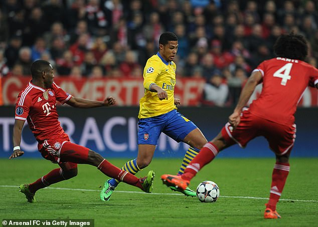 The German youngster came up against Bayern Munich in the Champions League in 2014