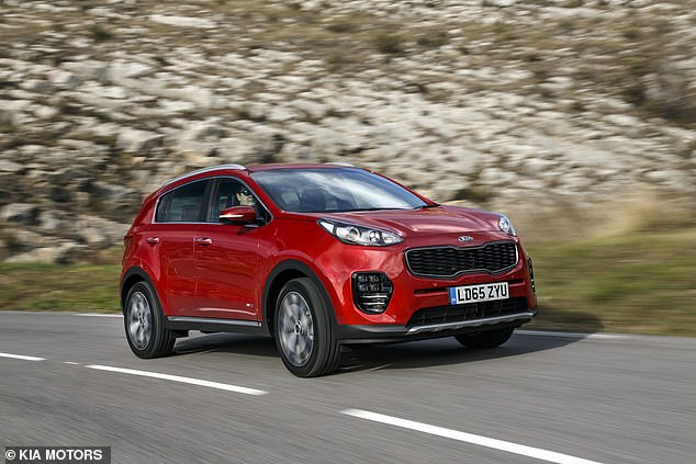 Best used car: The existing Kia Sportage compact SUV was named the best second-hand car in Britain by a poll of thousands of UK owners