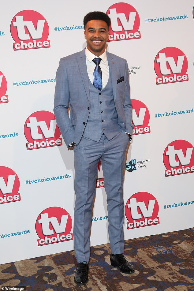 Explosive:This comes after it was confirmed that Asan had been sacked from the soap for his part in the brawl, which came during the TV Choice Awards on Monday night