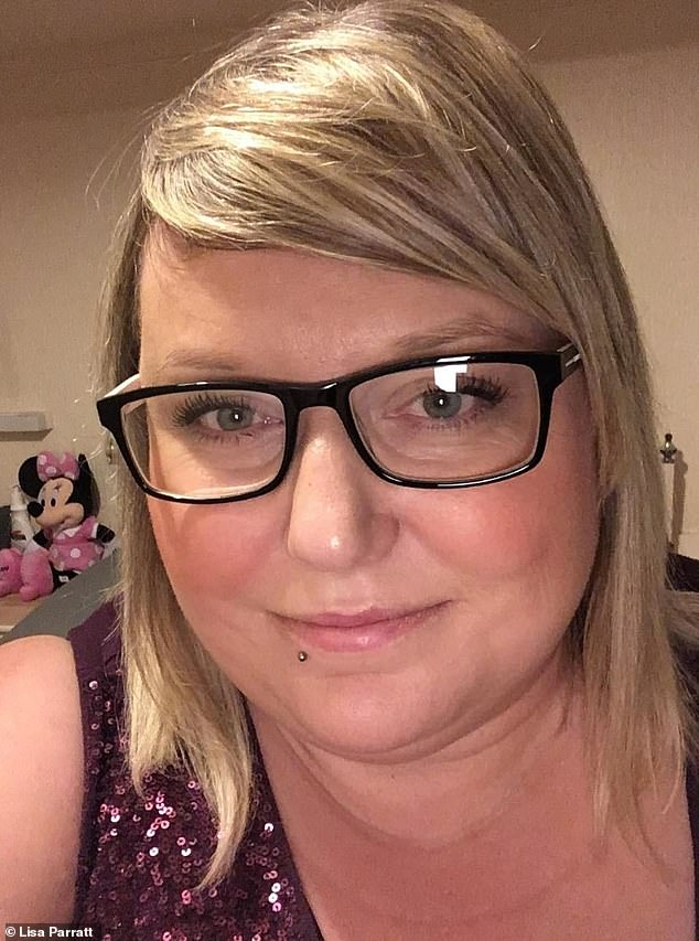 After receiving Gary's hurtful comments, Lisa (pictured) shared them on Facebook - as she wanted him to realise how damaging his words were - and was inundated with messages of support