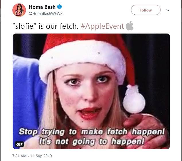 Among the most common criticism has come in the form of a Mean Girls reference, with many Twitter users dredging up Regina George's curt dismissal of the word 'fetch' in their reactions