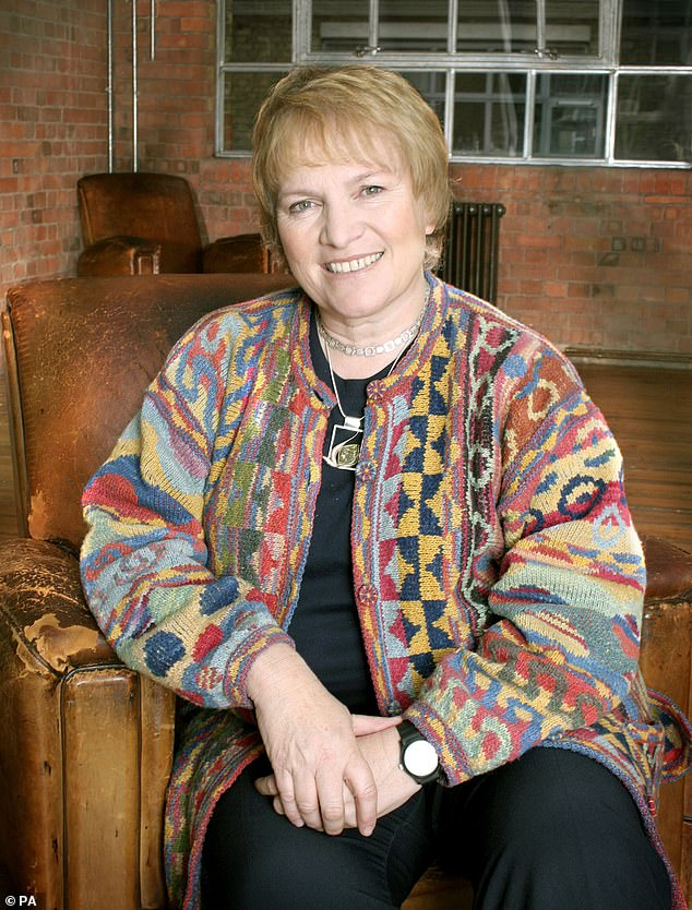 Libby Purves (pictured) revealed why she was afraid of taking powerful painkillers, despite the fact that she was suffering from chronic sciatica in her right leg.