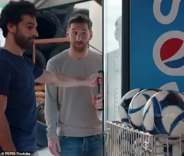 He will join Lionel Messi in Pepsi adverts ahead of next summer's European championships