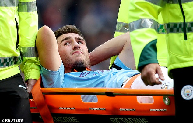 Kompany insists City will be able to cope even with Aymeric Laporte out injured