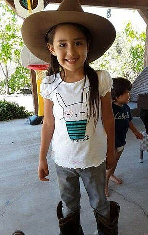 The body of Renezmae Calzada, five, was found in the Espanola area, near Santa Clara Pueblo, at noon on September 11. She was seen playing outside of her step-father's home in Espanola at 9:30am. Her mother reported her missing more than ten hours later at 7:39pm, triggering an amber alert in the area.