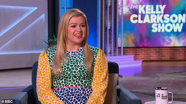 DailyMail.com correspondent Caitlyn Becker visits Kelly Clarkson on her new TV series. Kelly opens about life as working mom and as body shamers