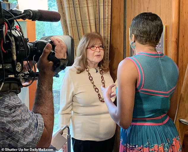 Sally Jessy Raphael Senior News Correspondent DailyMailTV builds Alicia Quarles inside her home town of Manhattan to reflect on her career