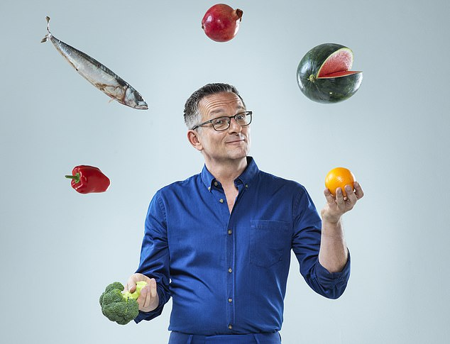 Dr Michael Mosley reveals how proper diet and exercise can hold back the years as the clock ticks on