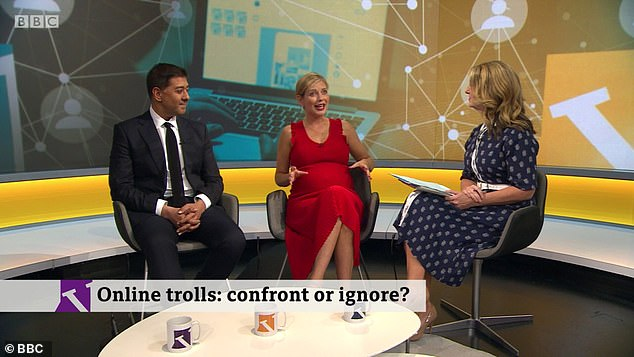 Speaking on the Victoria Derbyshire Show today Riley appeared alongside the paper's co-author Imran Ahmed