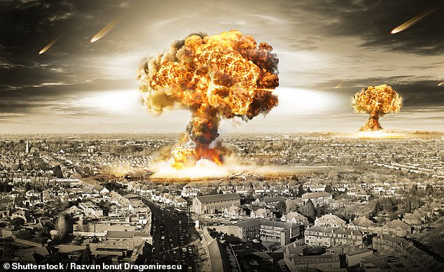 In the final phase of the conflict, the simulation suggests that both sides would take aim at each other's 30 most populated cities and economic centres ¿ deploying 5¿10 nukes for each one ¿ to attempt to inhibit each side's recovery, as depicted in this artist's impression