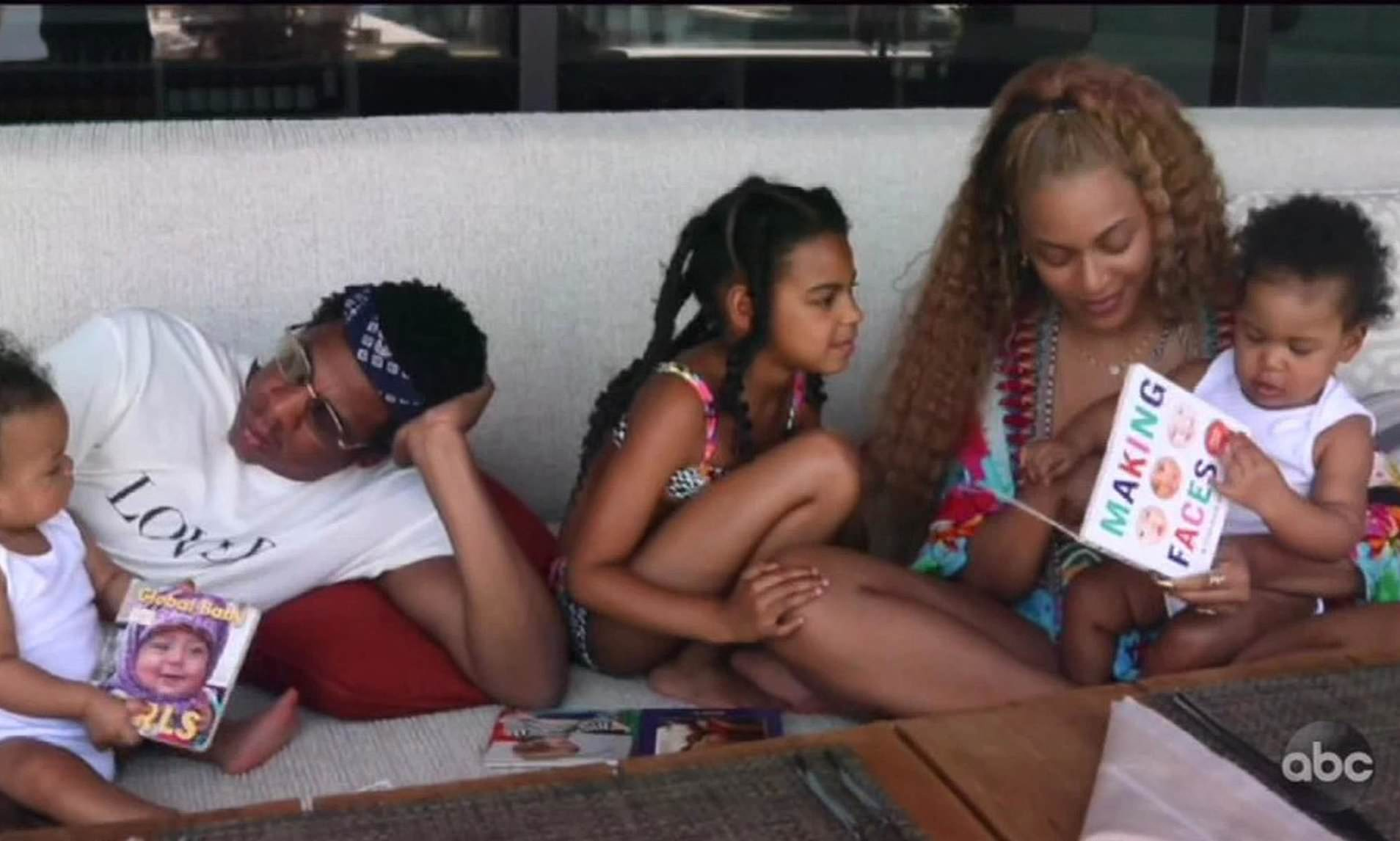 life with husband jay z and three kids