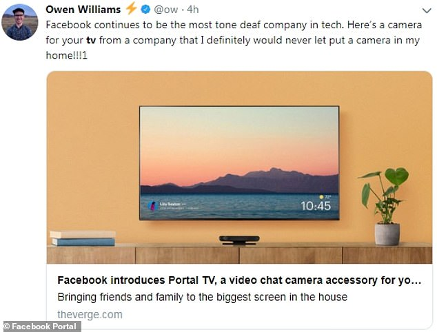 Portal family may sound harmless, but some have questioned the social media giant's motive