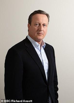David Cameron picturedin a new BBC programme